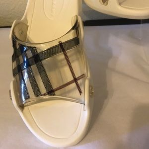 Burberry Shoes - Burberry slip on sandals